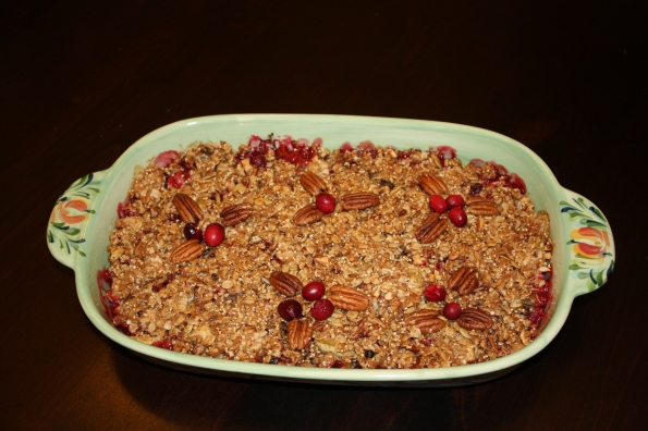 Cran-Apple Quinoa Crisp